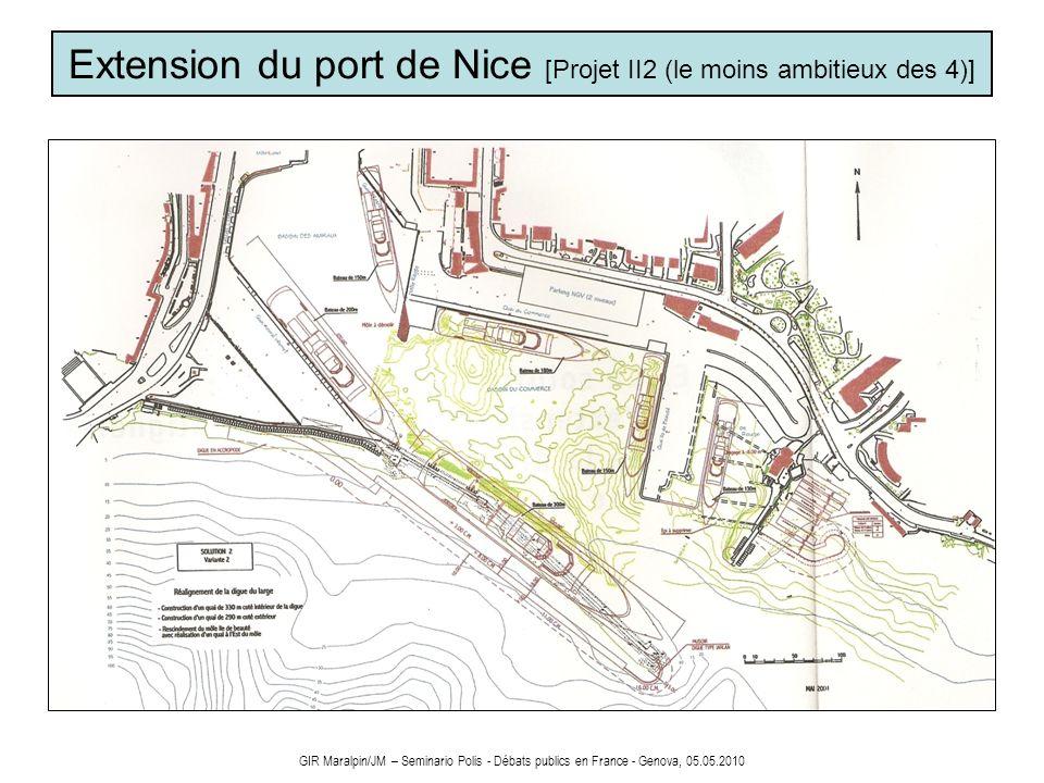 Extension du port de Nice [Projet II2 (le moins ambitieux des 4)]